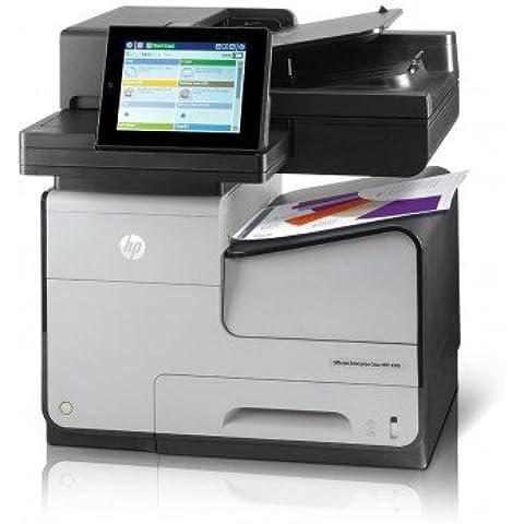 Hewlett Packard HP Officejet Enterprise Color X585f-Stampante multifunzione a colori, a getto di inchiostro, Legal (216 x 356 mm) (original) Legal, A4, supporto (-) fino a 44 ppm (copia)-fino a 72 ppm (stampa, 33,6 550 fogli kbit s-USB 2,0, hôt, Gigabit LAN