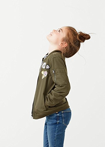 MANGO KIDS – Bomberjacke mit Jacken patches - 4