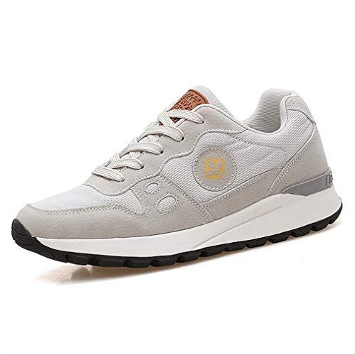 Damenschuhe New Spring Herbst Turnschuhe Casual Damen Schuhe Oxford Breathable Mesh Academy Laufschuhe (Farbe : EIN, Größe : 39) Academy Oxford