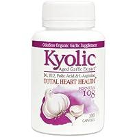 Preisvergleich für Kyolic Garlic Formula 108 - Tabletten für die Herzgesundheit mit Knoblauch(100 Kapseln)