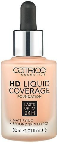 Catrice HD Liquid Coverage Foundation Rose Fond de teint Beige 20 150 g
