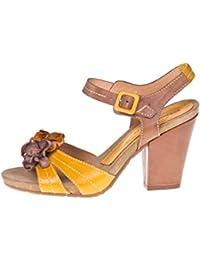 ROBERTO BOTELLA - <p>Sandalia multi tacón medio</p> - Color Amarillo - Talla 39
