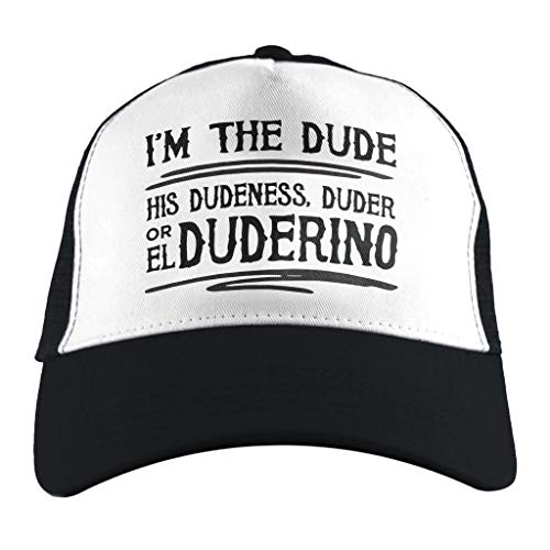 The Big Lebowski Dude Quote, Trucker Cap (Big Lebowski Bowling Kostüm)