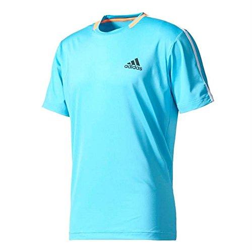 Adidas Herren Vorteil Shirt, Samba Blue/Black