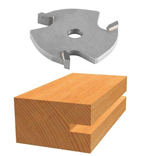 Bosch 85610M 1/4in. Hartmetallbestückt 3-wing Nutfräser Bit