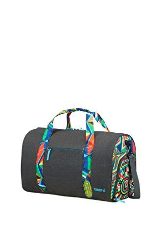 AMERICAN TOURISTER MWM Summer Fun - Sports Bag Bolsa de Deporte, 50 cm, 46 Liters, (Vectorfunk)