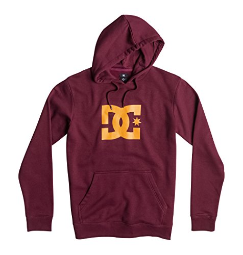 DC Shoes PH M OTLR RSZ0 - Felpa da uomo con stella Rosa Port Royale XXL