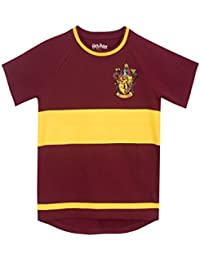 083e7490 HARRY POTTER Boys Gryfindor Quidditch T-Shirt Ages 5 to 13 Years