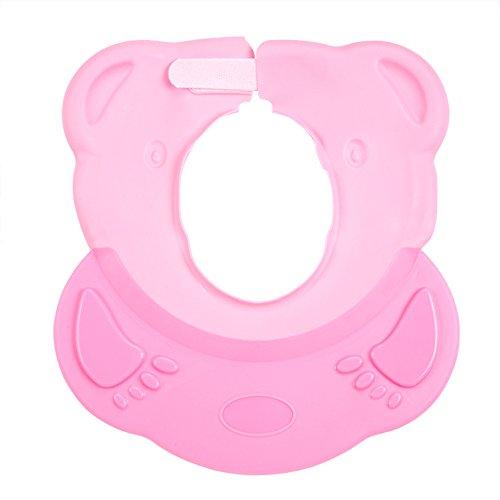 SHOUHOUZHE Duschhaube Kinder Shampoo Cap Silikon Wasserdichte Badekappe (26 * 28 cm)
