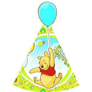 Generique - 6 cappelli Winnie the Pooh
