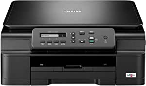 Brother DCP-J132W Tintenstrahl-AIO (A4, 3-in-1, imprimeur, photocopieuse, Scanner, Netzwerk, WLAN, iPrint&Scan)