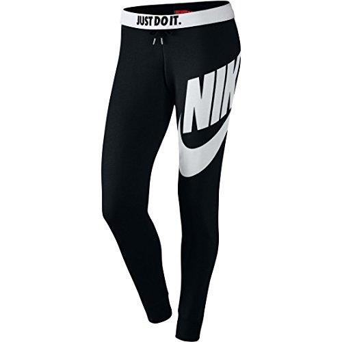 Nike Rally-Tight Exploded Pantacourt Leggings Black/Black/White