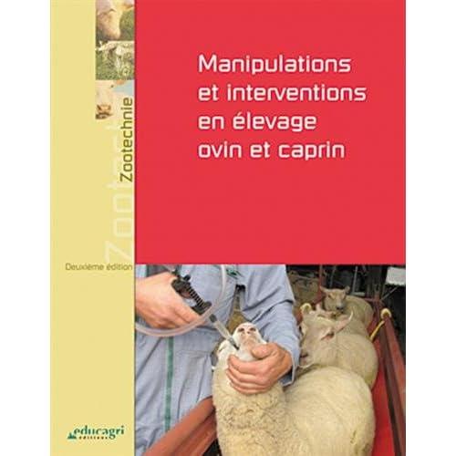 Manipulations et interventions en élevage ovin et caprin - 2e édition