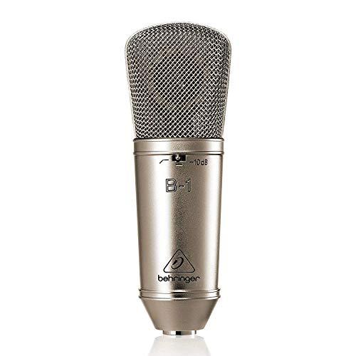 Behringer B-1 microfono a condensatore cardioide + valigetta karaoke live speaker