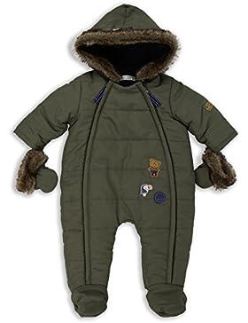 The Essential One Baby Jungen Kunstpelz Schneeanzug Snowsuit - Khaki - EO253