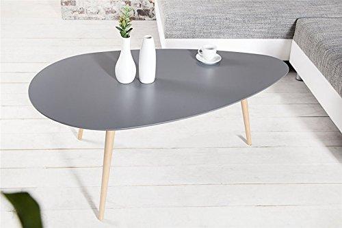 Chloe Design Table Basse scandinave SCANIVA - Graphite - 115