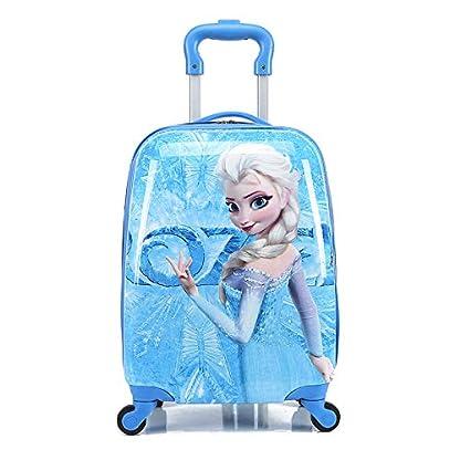 McQueen-ELSA-Anna-Barbies-Micky-Maus-Minnie-Minion-Spiderman-Kinder-Urlaub-Reise-Charakter-Koffer-Gepck-Trolley-Tasche-ELSA
