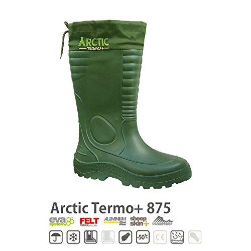 Lemigo Arctic Thermo + EVA (Gummistiefel/Thermostiefel bis - 50ºC), Schuhgröße:43