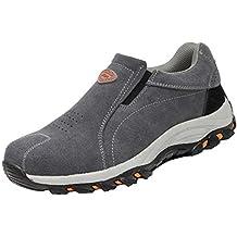 ffb46694be235 RSHENG Zapatos Botas para Zapatos De Seguridad De Trabajo Unisex Zapatos  con Punta De Acero