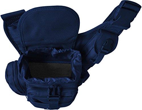 Normani Unisex Schultertaschen, Schwarz Navy