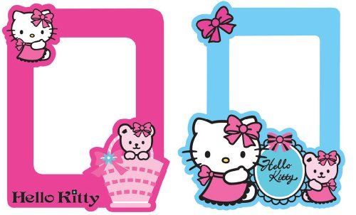 Decofun 70-009 Hello Kitty - Foam Wall Frames