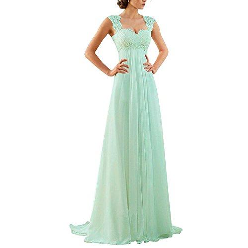 A-linie Chiffon Abendkleid bei HR-PFP | A-linie Chiffon Abendkleid ...