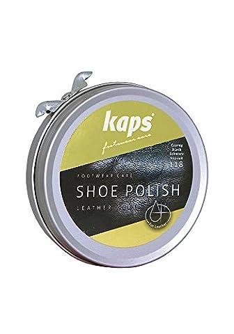 Cirage pâte nourrit, nettoie, protège et fait briller Kaps de cirage, 5 couleurs - Marron - 139 middle