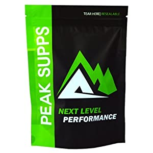 Natural Soy Protein Isolate (Unflavoured) - 5kg (1kg Bag x 5) - Free Delivery - Vegan friendly by Peak Supps