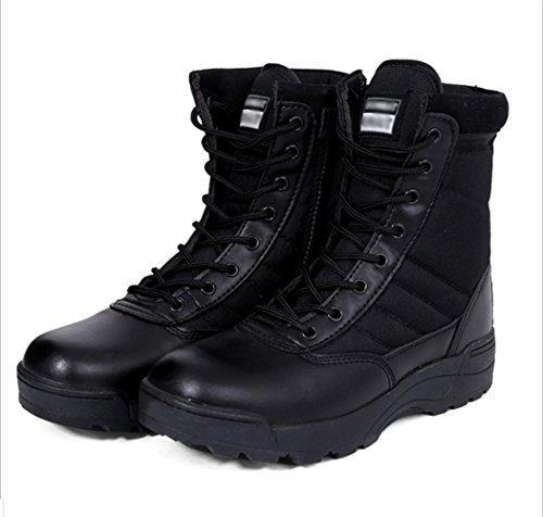 Shenn Mujer Moda Zapatillas Atada Remaches Negro Cuero Entrenadores Zapatos EU35.5 Z4k57XD