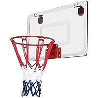Yaheetech Aro de Baloncesto Canasta de Baloncesto Malla 45,7 x 30,5 x 5 cm Mini Aro