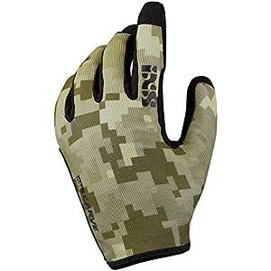 IXS Bike-Handschuhe Carve Fluo Rot