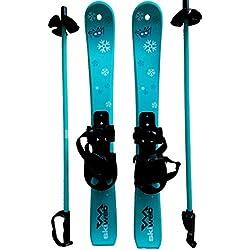 Skis pour des enfants avec des bâtons de ski -70cm âge 2 - 4