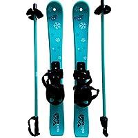 Kinder Skis mit Ski-stocken - Alter 2 - 4
