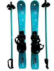 Kinder Skis mit Ski-stocken - Alter 2 - 4