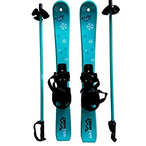 Kinder Skis mit Skistocken – Alter 2 – 4