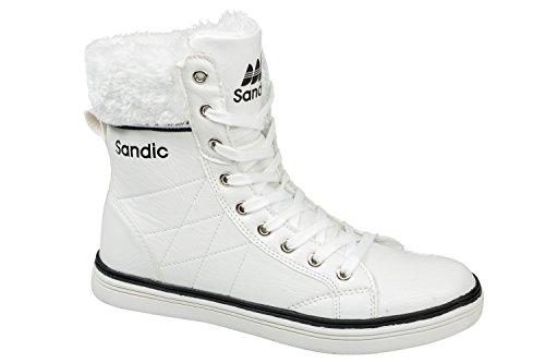 gibra, Sneaker donna Bianco