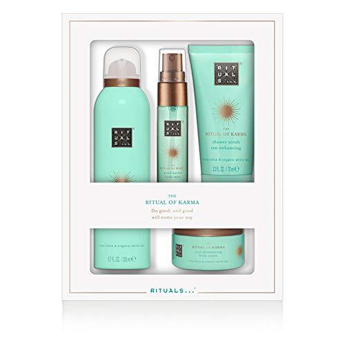 RITUALS Cosmetics RITUALS Whs Discovery Set Karma Foaming Shower Gel 200ml, Body Scrub 70 Gr, Body Cream 125ml, Bed & Body Mist 20 Ml