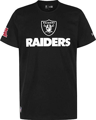New Era NFL Fan Logo New England Patriots T-Shirt,Black,M