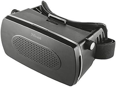Trust Urban Exa - Gafas de realidad virtual para Smartphone, negro