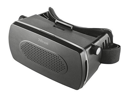 Trust urban exa visore universale per smartphone, per la realtà virtuale