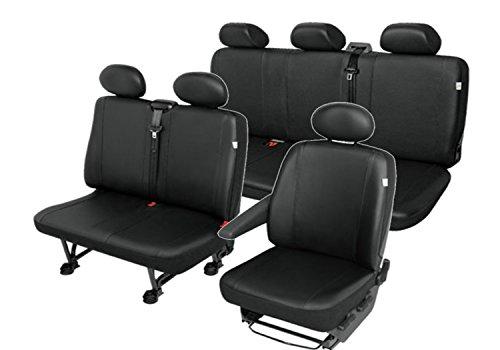 Kunstleder Sitzbezüge Sitzschoner Set 6-Sitzer robuste und Pflegeleichte ECO-Leder Maßgeschneidert (wird ab 02.05.2017 in dieser Form angeboten)  (Maßgeschneiderte Leder)