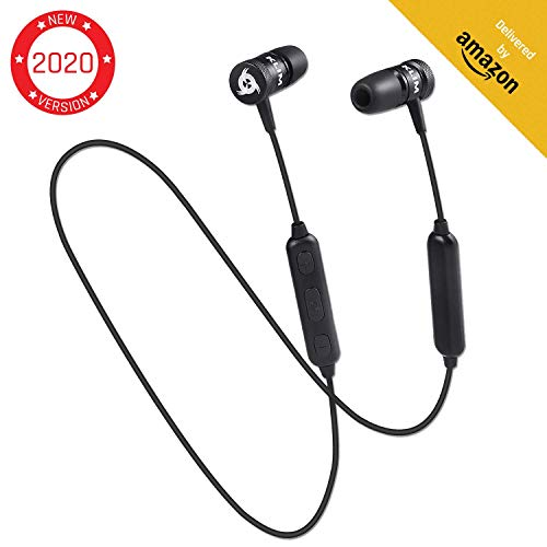 KLIM Fusion Bluetooth Kopfhörer Wireless - Hohe Audioqualität, mit Mikrofon + Haltbar...