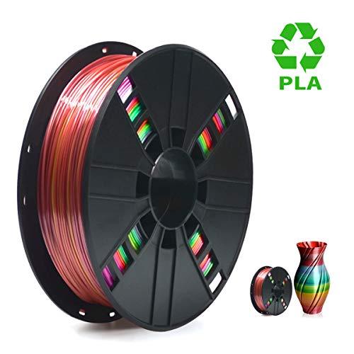 PLA Filament 1.75mm Rainbow Multicolor