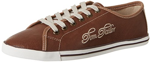 Tom Tailor 2793102, chaussons d'intérieur femme Braun (Camel)