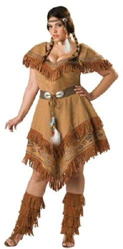 Indian Maiden 3xl (Erwachsene Indian Maiden Kostüme)