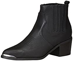 Forever 21 Womens Black Boots - 4.5 UK/India (36.5 EU)(6.5 US)(0023302901)