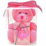 PreferredScent Plush Pal And Kiss Perfume Handbag Gift Set For Women