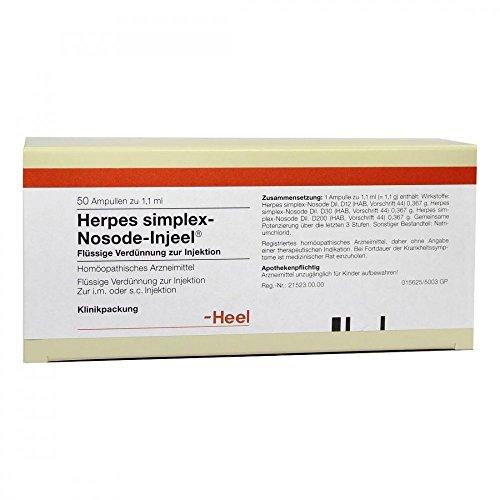 Herpes Simplex Nosode Injeel Ampullen 50 stk