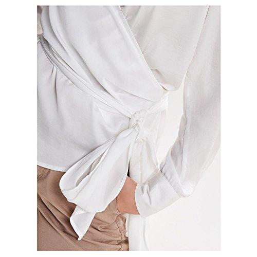 Only Chemisier - Femme Blanc