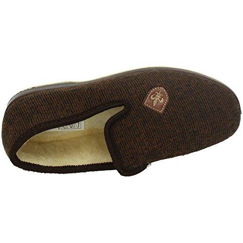 Soca, Pantofole uomo Marrone